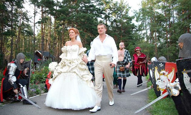 Лицарський весілля