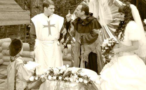 Лицарський весілля фото