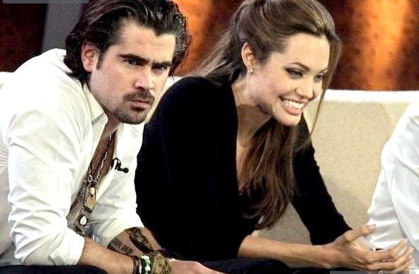 Анджеліна Джолі була закохана в Коліна Фаррелла