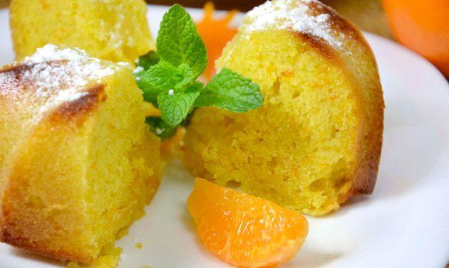 Апельсиновий кекс - рецепт з фото