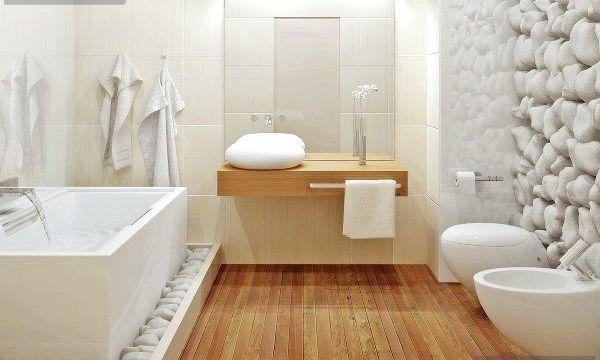 Біла ванна кімната: дизайн ідеї