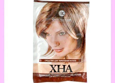 Безбарвна хна для волосся