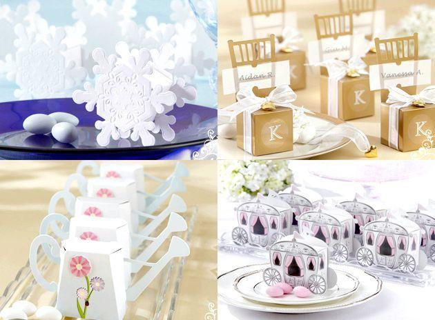 Бонбоньєркі для гостей на весілля