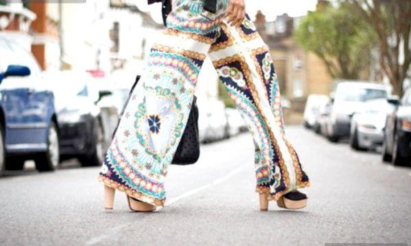 Брюки-спідниця: модні образи (фото)