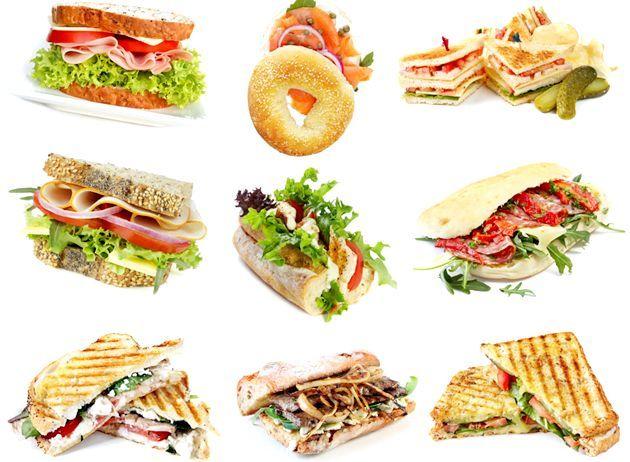 Бутерброди на швидку руку - рецепти