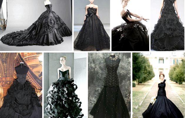Чорне весільне плаття? Чому б і ні!
