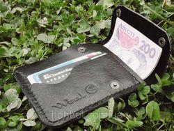 Чоловічі гаманці з натуральної шкіри