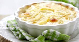 Яблучно-сирне суфле в мікрохвильовці