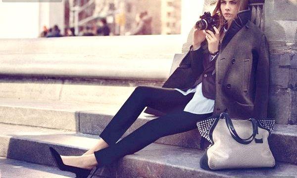 що одягнути восени з пальто?
