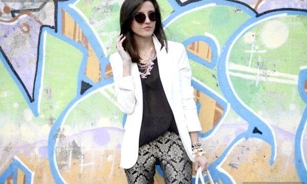 що носити з білим піджаком?