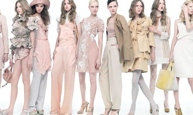 Колір nude - модні тенденції стильного кольору