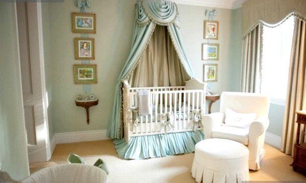 Дитячий балдахін на ліжечко (фото)