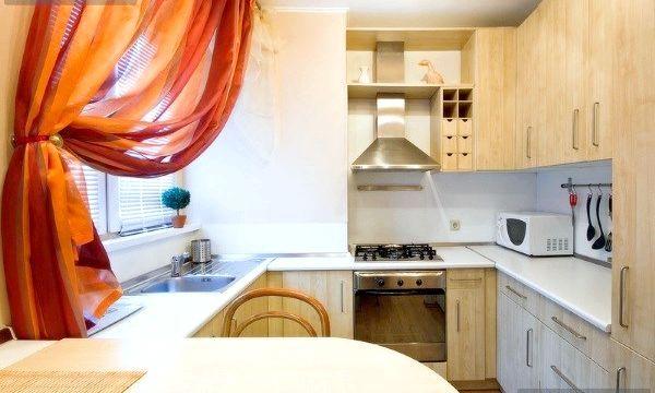 Дизайн кухні 6 м (фото)