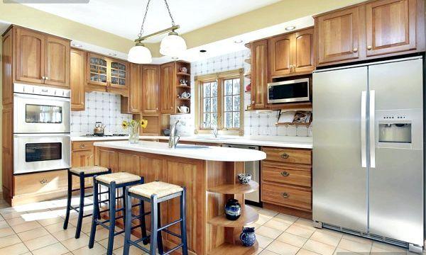 Дизайн кухні в приватному будинку (фото)