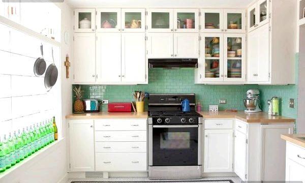 Дизайн маленької кухні (фото)