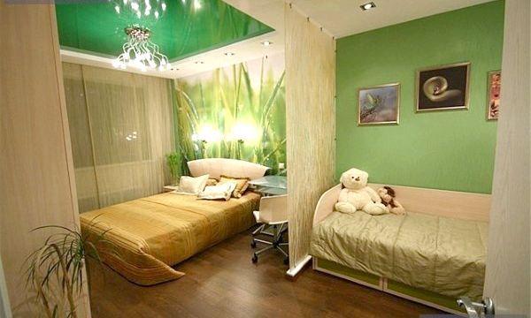 Дизайн однокімнатної квартири з дитиною (фото)
