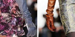 Довгі рукавички - модний аксесуар
