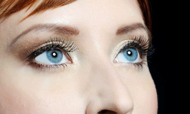Денний макіяж очей покроково (фото) - як зробити просто і ефектно