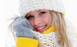 Догляд за шкірою обличчя в зимовий час