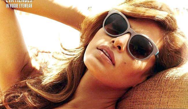 Єва Мендес у рекламній кампанії vogue
