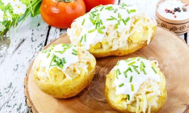 Фарширований картопля: кращі рецепти