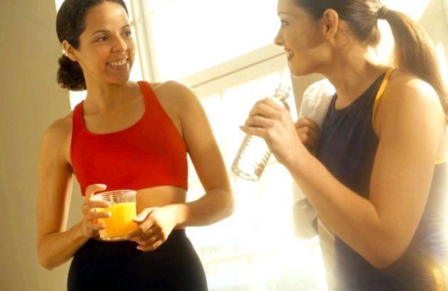 Фітнес для схуднення - як не переїдати після тренування?