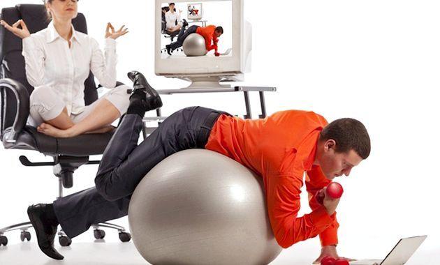 Фітнес на робочому місці (вправи)