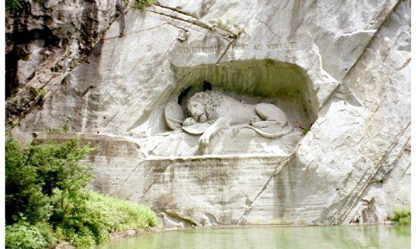 Пам'ятник «Вмираючий лев»