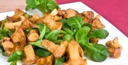 Вітамінний салат з вешенками