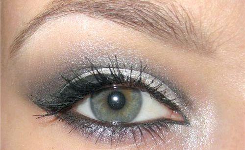 Ідеальний мейк-ап: макіяж для сіро-зелених очей