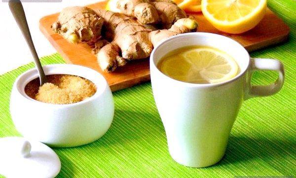 Імбирний чай для схуднення (рецепти)