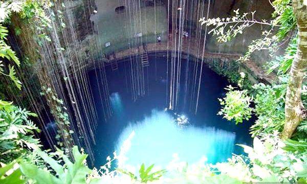 Цікаві факти: пам'ятки Мексики (підводні озера)