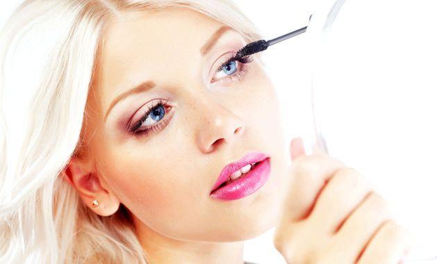 Експрес-макіяж очей - покрокова техніка з фото
