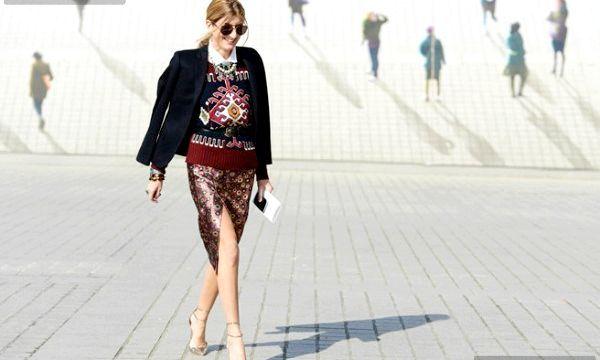 Спідниця з розрізом: з чим носити? (Фото)