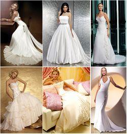 До вибору весільного вбрання нареченої