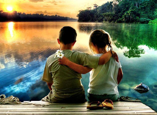 Як навчити дитину дружити?