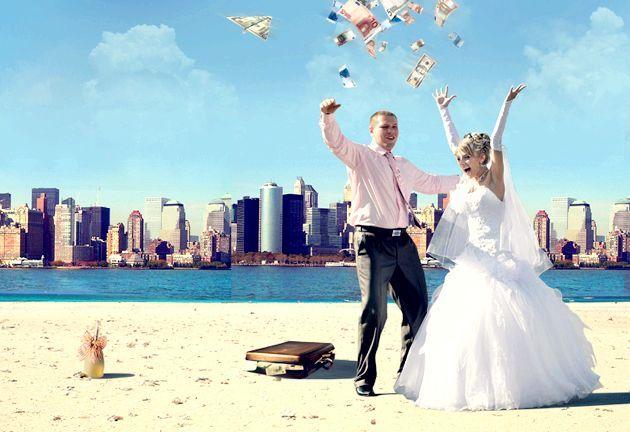 Як оригінально подаруваті гроші на весілля