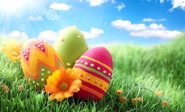Як пофарбувати яйця на пасху