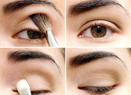 Як правильно фарбувати очі тінями