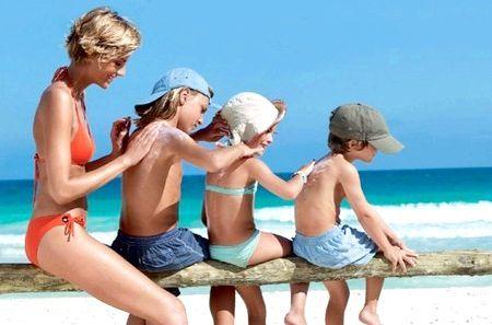 Як правильно засмагати на пляжі