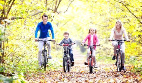 прогулянка на велосипедах