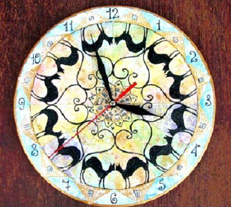 Як зробити годинник з вінілової платівки своїми руками: майстер-клас