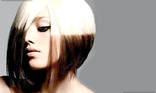 Як зробити двутональное фарбування волосся? (Фото)