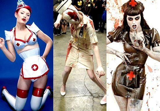 Як зробити костюм медсестри на хеллоуїн своїми руками, фото