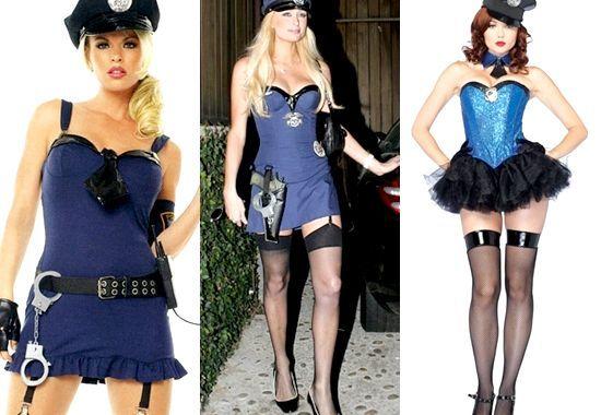 Як зробити костюм поліцейської на хеллоуїн своїми руками, фото