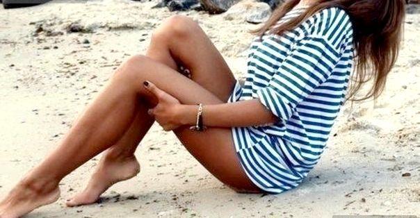 Як візуально подовжити ноги?