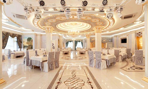 Як вібрато банкетний зал для весілля