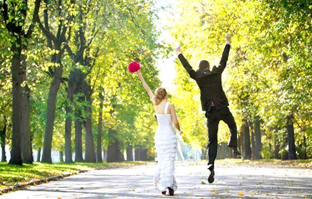 Як вібрато маршрут весільної Прогулянки