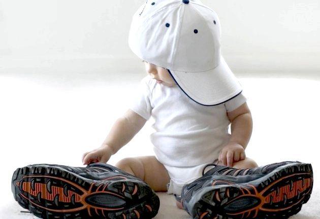 Як вибрати взуття для дитини від року до трьох років?