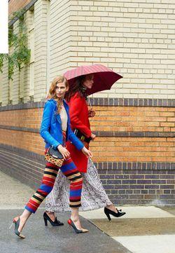 Як виглядати яскраво в дощовий день?